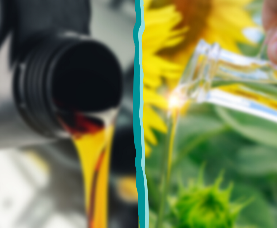 Les huiles minérales bien qu'elles pourraient nous berner par leur nom sont tout sauf naturelles ! Présentes autant dans les cosmétiques que dans l'huile moteur des voitures, elles ont un impact sur l'environnement et ta santé ! On t'explique !