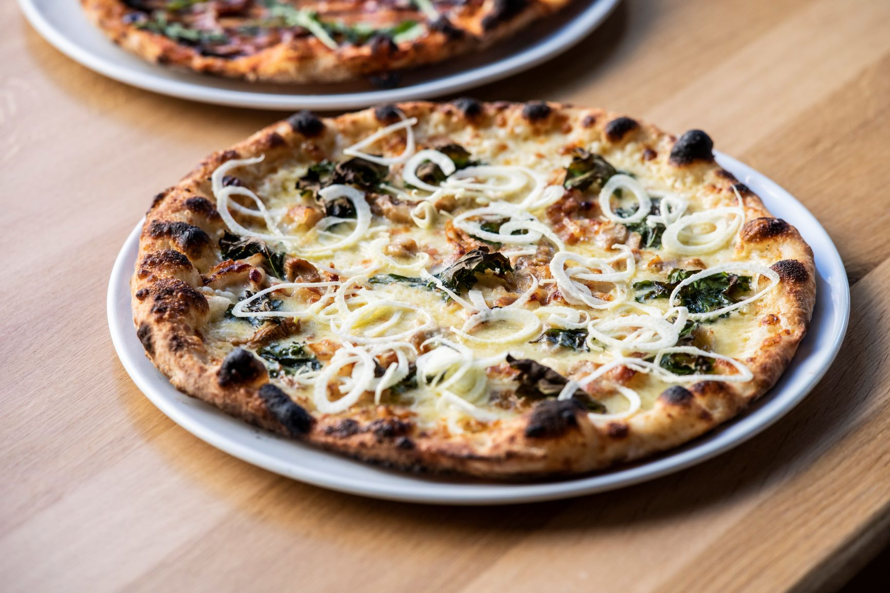 Pizza fra Sentralen Kafe