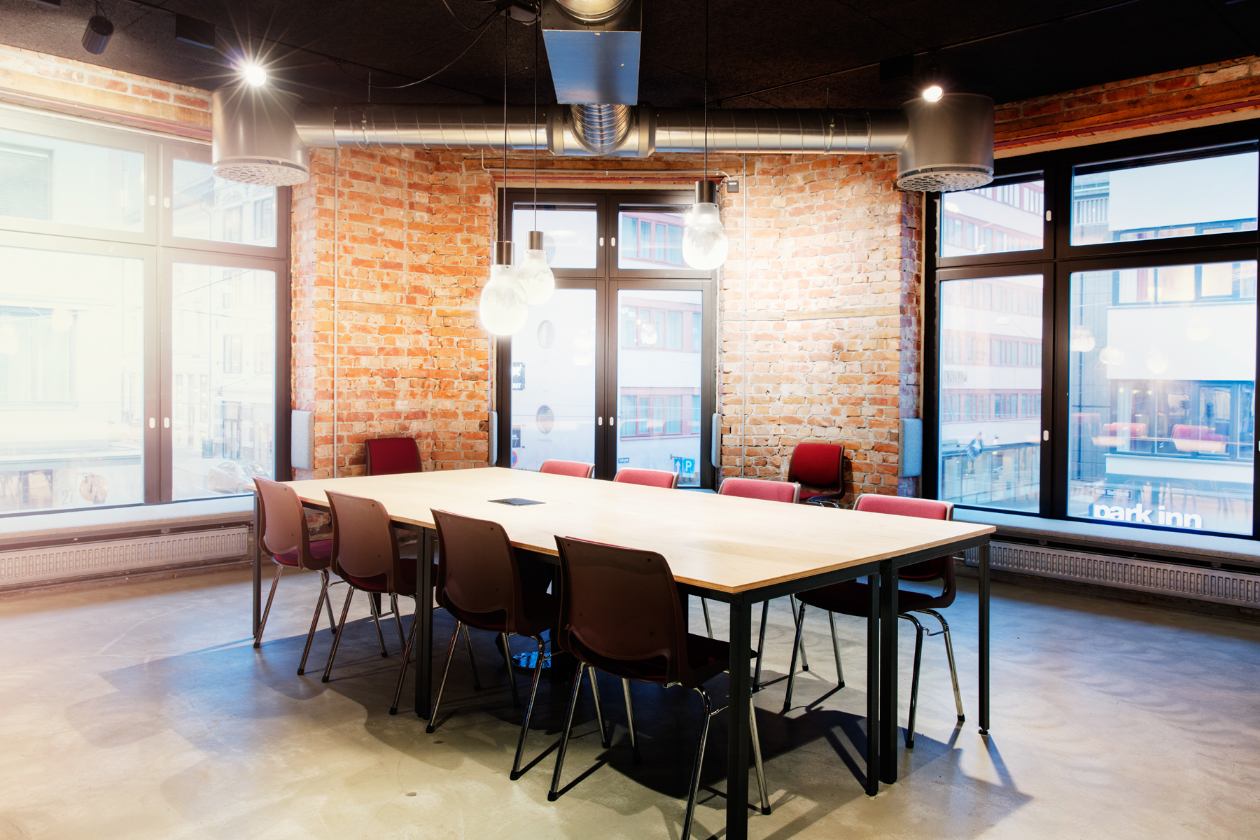 Møterom i andre etasje