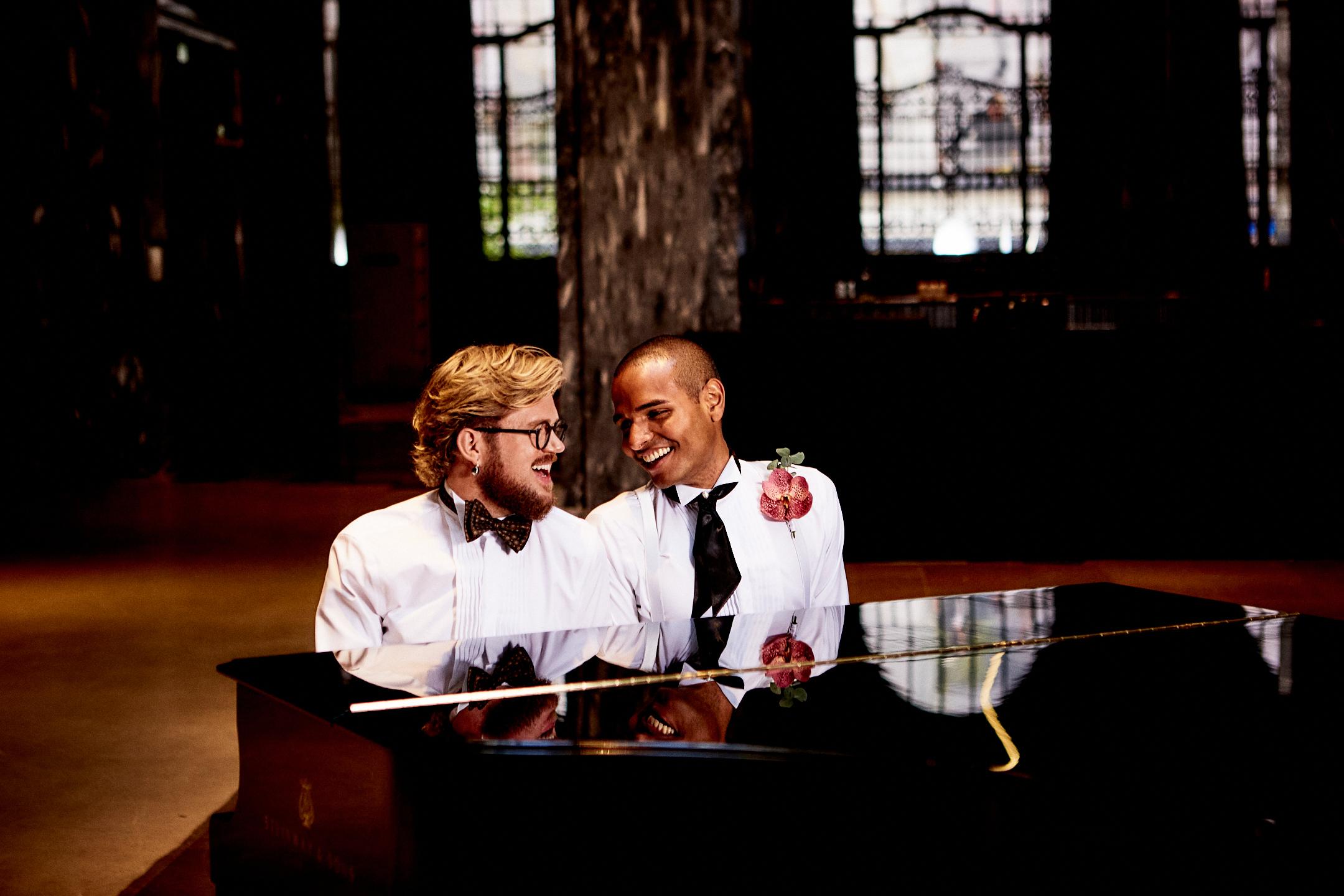Brudepar i Sentralen