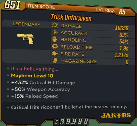 Unforgiven (Pistol-BL3)