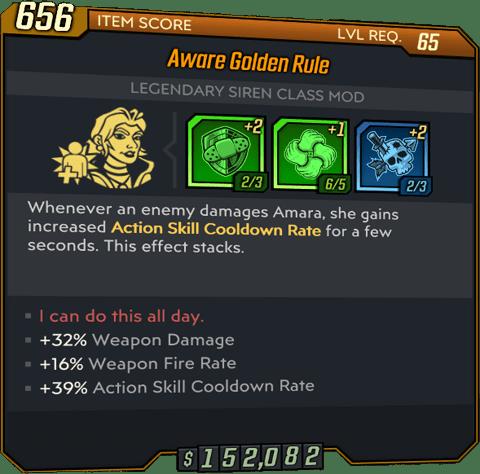 Golden Rule (Amara-BL3)