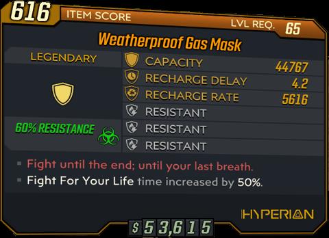 Gas Mask (BL3)