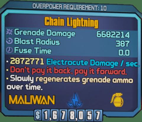 Chain Lightning (BL2)