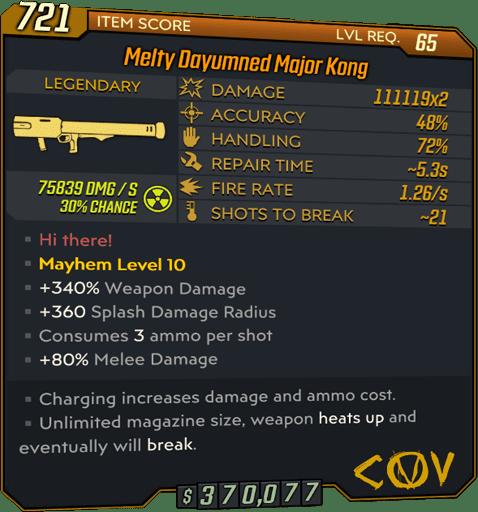 Major Kong (Launcher-BL3)