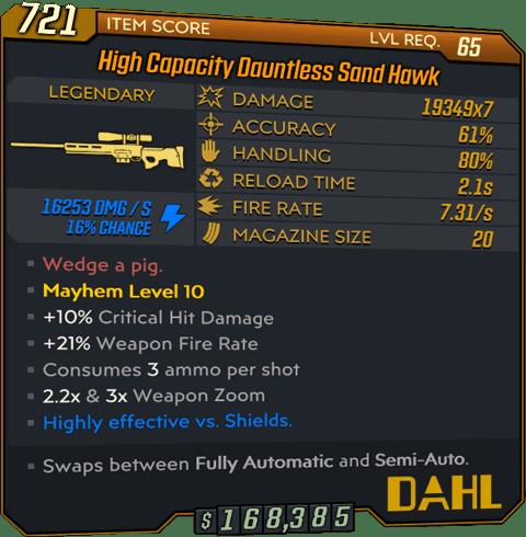 Sand Hawk (Sniper-BL3)