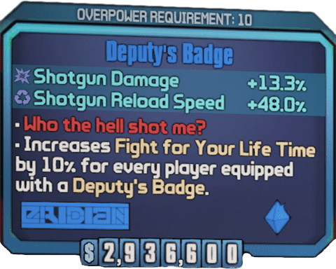 Deputy's Badge (BL2)