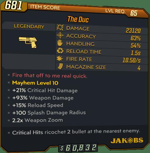 The Duc (Pistol-BL3)