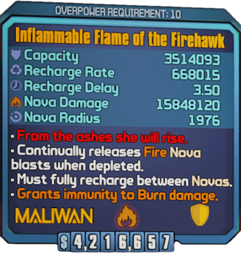 Flame of the Firehawk (BL2)