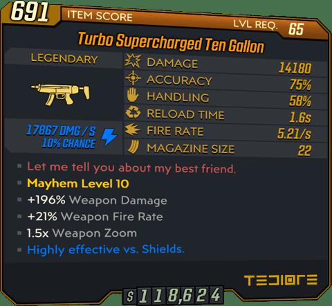 Ten Gallon (SMG-BL3)