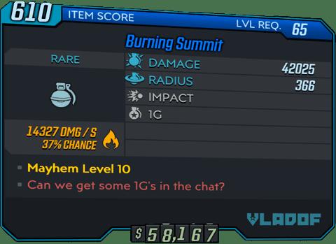 Burning Summit (BL3)
