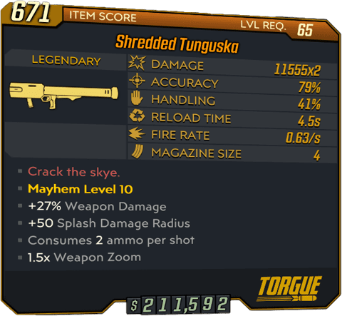 Tunguska (Launcher-BL3)