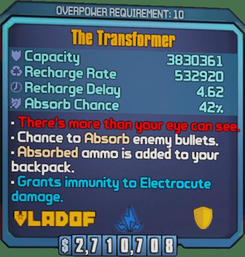 The Transformer (BL2)