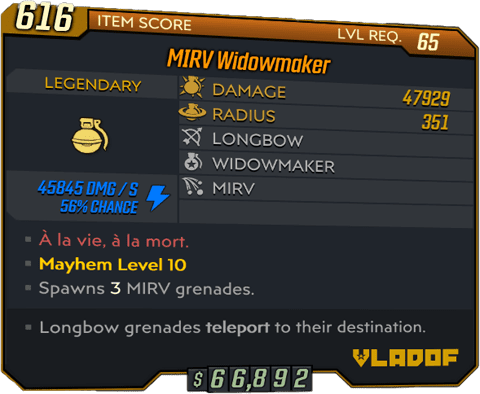 Widowmaker (BL3)