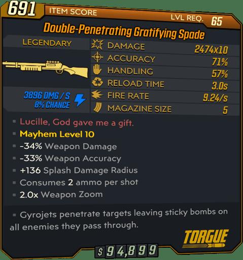 Spade (Shotgun-BL3)