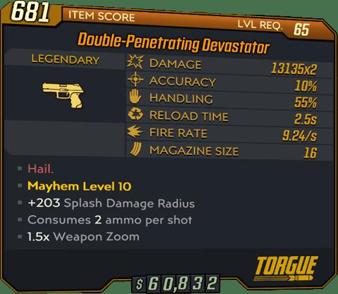 Devastator (Pistol-BL3)