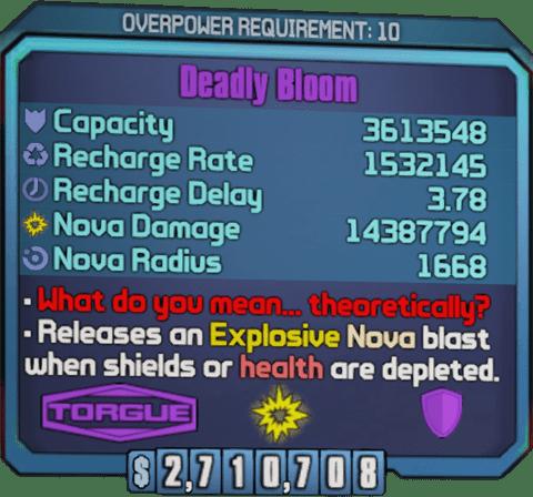 Deadly Bloom (BL2)