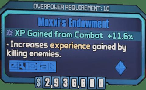 Moxxi's Endowment (BL2)