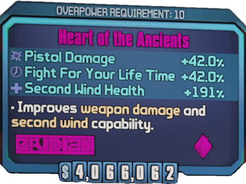Heart of the Ancients (BL2)
