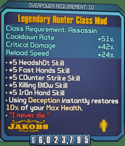 Legendary Hunter (Zer0-BL2)