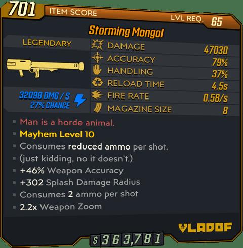 Mongol (Launcher-BL3)