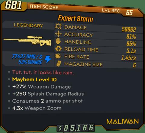 Storm (Sniper-BL3)