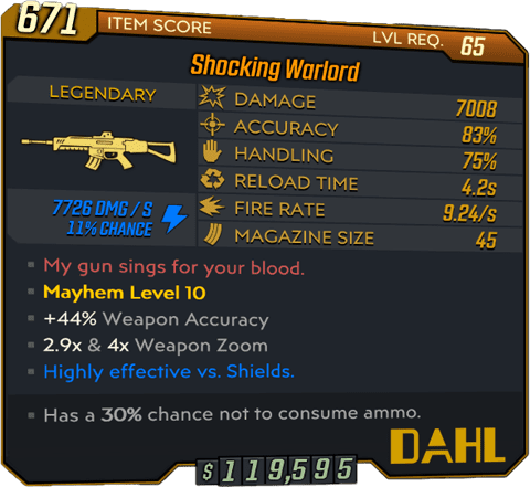 Warlord (AR-BL3)