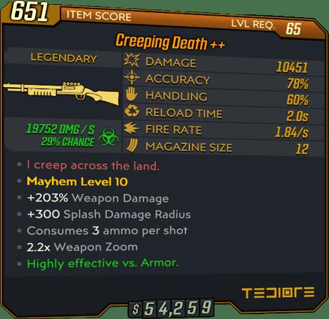 Creeping Death (Shotgun-BL3)