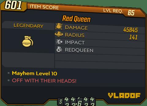 Red Queen (BL3)