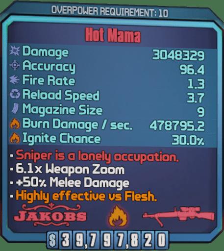 Hot Mama (Sniper-BL2)