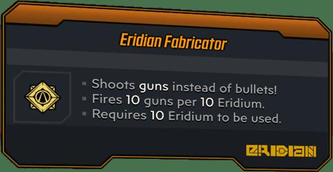 Eridian Fabricator (Launcher-BL3)