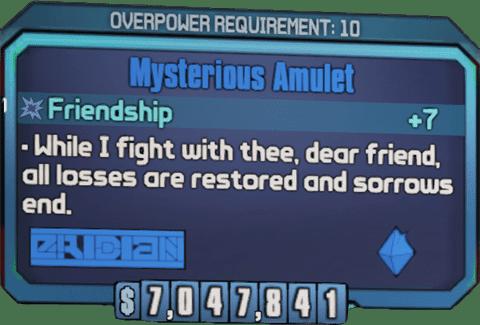 Mysterious Amulet (BL2)