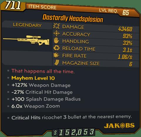 Headsplosion (Sniper-BL3)