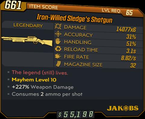 Sledge's Shotgun (Shotgun-BL3)