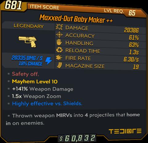 Baby Maker (Pistol-BL3)
