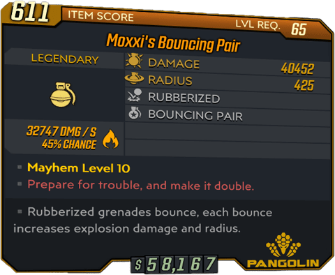 Moxxi's Bouncing Pair (BL3)