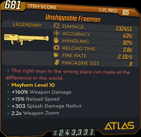 Freeman (Launcher-BL3)
