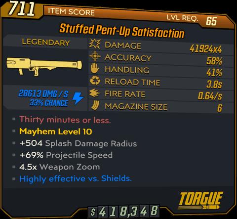 Satisfaction (Launcher-BL3)