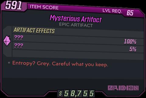 Mysterious Artifact (BL3)
