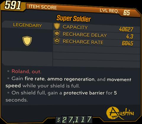Super Soldier (BL3)