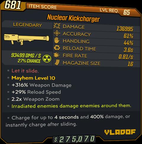 Kickcharger (Launcher-BL3)