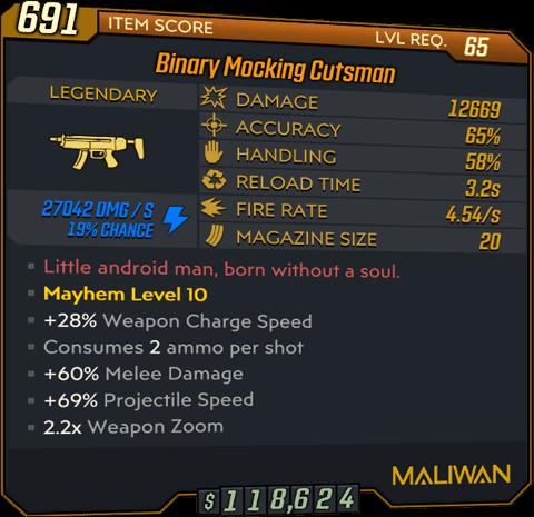 Cutsman (SMG-BL3)