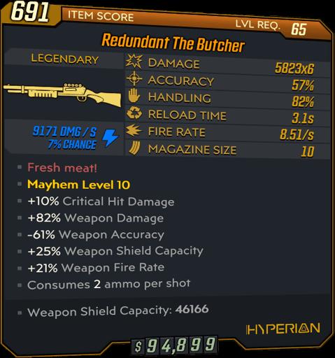 The Butcher (Shotgun-BL3)