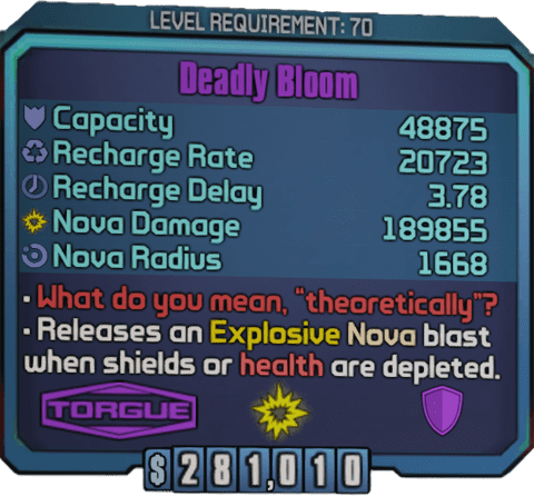 Deadly Bloom (TPS)