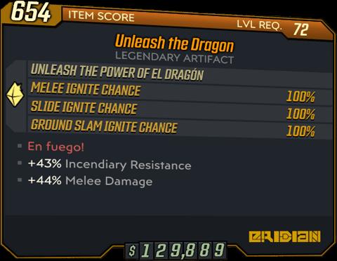 Unleash the Dragon (BL3)