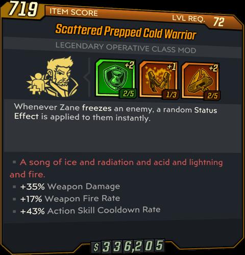 Cold Warrior (Zane-BL3)