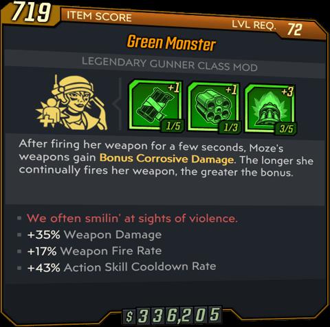 Green Monster (Moze-BL3)