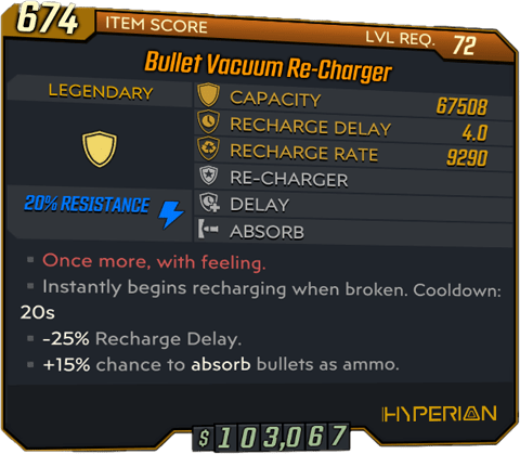 Re-Charger (BL3)
