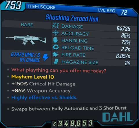 Hail (AR-BL3)