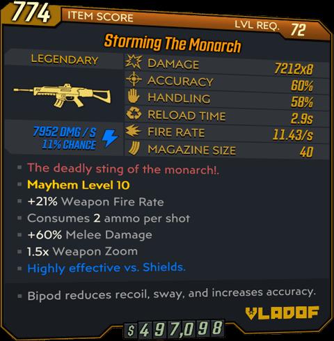 The Monarch (AR-BL3)